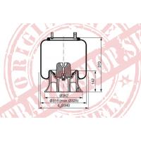 Príruba plechového zvonu 250x20/x70/120/V90 ľavá