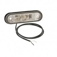 Svetlo POSIPOINT II biele LED 1500mm 2x0,5